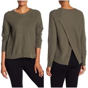 Madewell Cross-Back Province Pullover Sweater